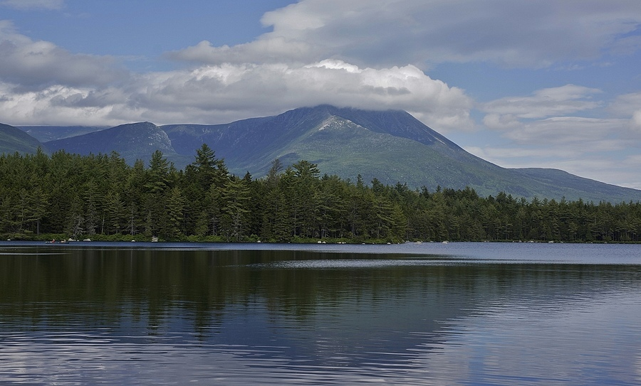 Mt Katahdin - Baxter State Park - Maine | LENS MODEL NOT SET <br> Click image for more details, Click <b>X</b> on top right of image to close